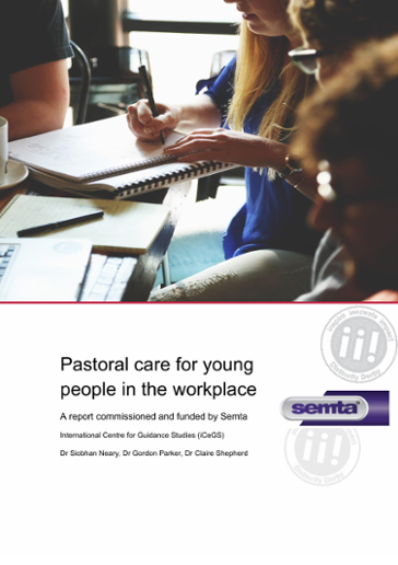 Pastoral Care For Young People In The Workplace