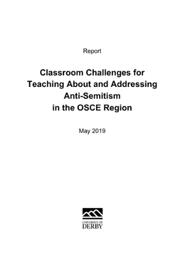 Classroom Challenges for Teaching About and Addressing Anti